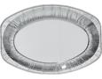 Serveerschalen aluminium en kunststof
