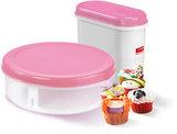 Plastic fun baking strooidoos 2,2 ltr., Q-line Sunware_