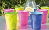 Duni Plastic Wegwerp Bekers Colrix green - 20 cl - 40 stuks_