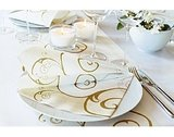 Duni Servet Grace Cream - 24 x 24 cm - 20 stuks_