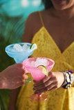 Duni Wegwerp Plastic Margarita Glas - 35 cl - 2 kleuren - 6 stuks_