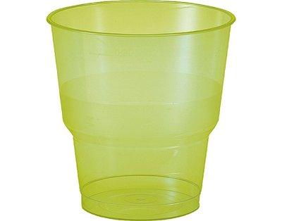 Glazen 25 cl, BBQ Green Line, Plastic ** Duni