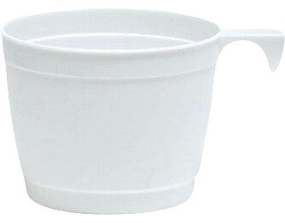 koffiekopje wit 25 cl. Plastic * Duni