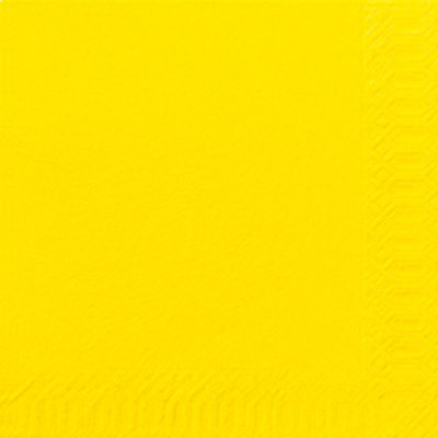 Servet 24x24cm, Brilliant Yellow ** Duni