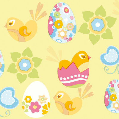 Servet 33x33cm, Easter Fun  ** Duni