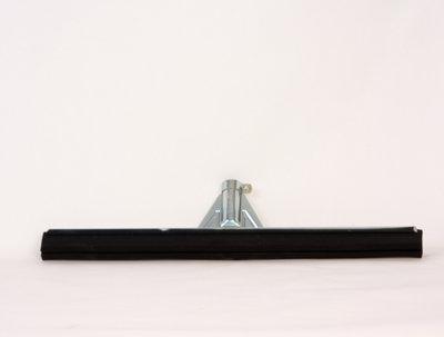 vloertrekker 55 cm metaal versterkt met rubber strip