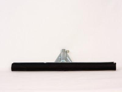 vloertrekker 100 cm metaal versterkt met rubber strip