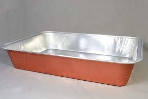 Rechthoekige aluminium bak smartypan  40,5×26,5×7,5cm 3450
