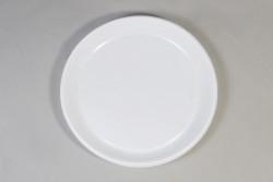 Borden 1-vaks Ø 22 cm, Plastic, wit