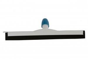 Kunststof vloertrekker 35 cm zwart natuurrubber
