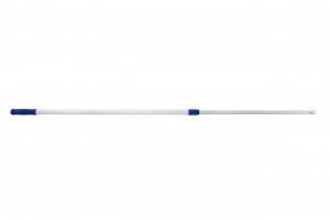 Mopsteel telescopisch met 3 gaatjes 100-140 cm aluminium