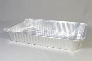 Aluminium wegwerp ovenschaal 31 x 21 x 5 cm