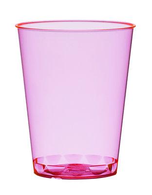 Borrelglazen, shot 4,9 cl, Neon Pink Plastic ** Duni