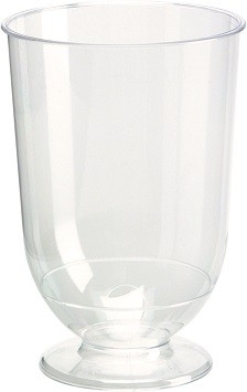 Wijnglazen / Whisky 18,5 cl, Crystallo PS Plastic, transparant