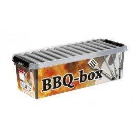 Plastic BBQ opbergbox 9,5 ltr., Q-line Sunware