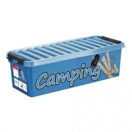 Plastic Camping opbergbox 9,5 ltr., Q-line Sunware