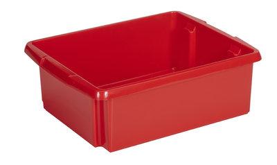 Opbergbox Nesta 45,5 x 36 x 14,5 cm 17 ltr. rood