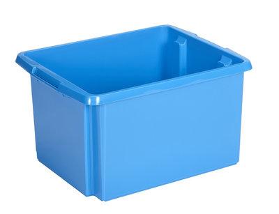 Opbergbox Nesta 45,5 x 36 x 24 cm 32 ltr. blauw