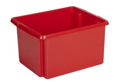 Opbergbox Nesta 45,5 x 36 x 24 cm 32 ltr. rood