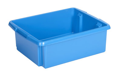 Opbergbox Nesta 45,5 x 36 x 14,5 cm 17 ltr. blauw