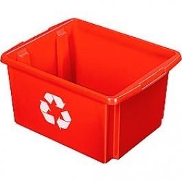 Opbergbox Nesta ECO 45,5 x 36 x 24 cm 32 ltr. rood voor kunststof