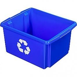 Opbergbox Nesta ECO 45,5 x 36 x 24 cm 32 ltr. blauw voor papier