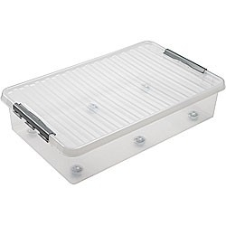 Bed rollerbox 60 ltr transparant Sunware
