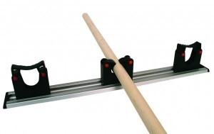 Toolflex wandstrip met klemmen zwart 50 cm