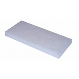 Doodlebug pad 250x115x25mm wit (set á 5 stuks)
