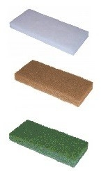 Doodlebug pad 250x115x25mm groen, wit en beige (set á 3 stuks)