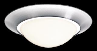 Verlichtingsarmaturen Cosmo 340 geborsteld aluminium Detect sensor