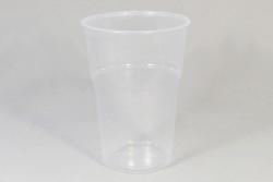 50 Stuks Wegwerp Plastic Bierglazen