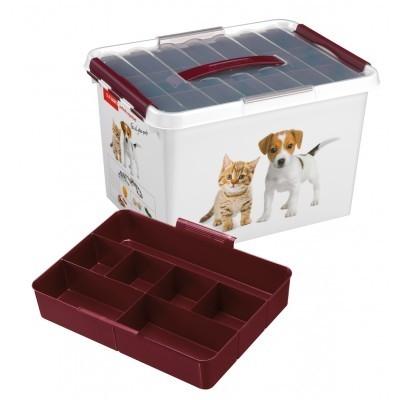 Opbergbox Petline Q-line 22,0 l. dierenvoer