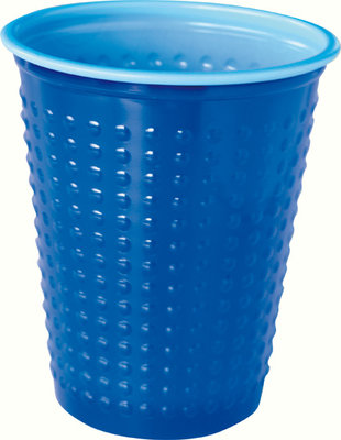 Bekers 20 cl, Colrix blue, Plastic ** Duni
