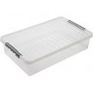 Bedbox 60 ltr transparant