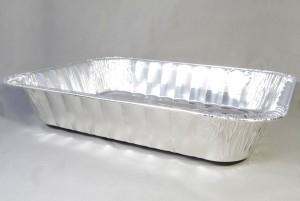 Aluminium wegwerp braadslede ca 42,5x30,5x8 cm