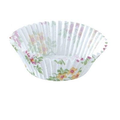 Bakvormpjes, floral Papier Duni