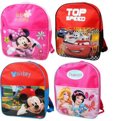 Rugzak 30x25x9 cm cm Disney (Minny mouse, Micky mouse, Princes, Cars)