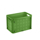 Opbergbox Square closed 406 x 256 x 261 mm 26 ltr. natuur groen