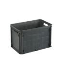 Opbergbox Square closed 406 x 256 x 261 mm 26 ltr. antraciet