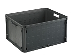 Opbergbox Square closed 506 x 406 x 261 mm 52 ltr. antraciet