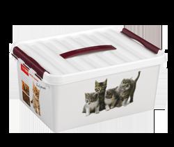 Opbergbox Petline Q-line 15,0 l. dierenvoer