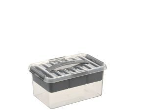 Q-line MultiBoxes 6,0 ltr. transparant/metallic