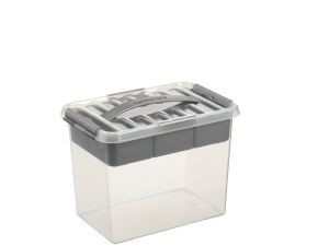 Q-line MultiBoxes 9,0 ltr. transparant/metallic