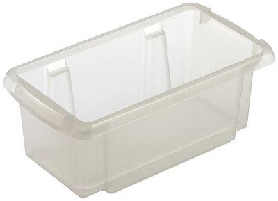Opbergbox Nesta 38,5 x 21 x 14,5 cm 7 ltr. transparant
