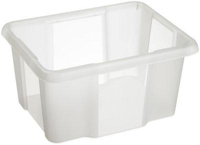 Opbergbox Nesta 42,5 x 33,5 x 22,5 cm 24 ltr. transparant