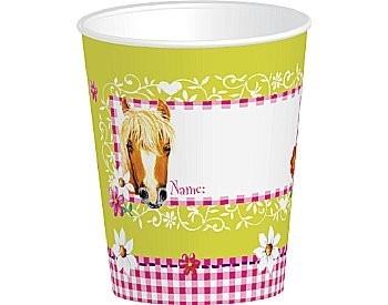 Kartonnen beker, Pretty Horse ** Duni