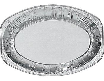 Serveerschaal, Aluminium Ovaal klein  ** Duni