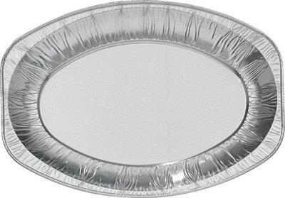 Serveerschaal, Aluminium Ovaal ** Duni