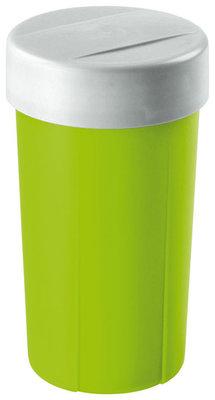 Lunchette,drinkbeker groen&zilver ** Sunware